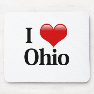 I Heart Ohio Mouse Pad
