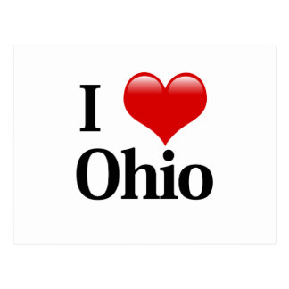 I Heart Ohio Postcard