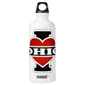I Heart Ohio Water Bottle