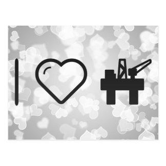 I Heart Oils Postcard