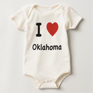 I Heart Oklahoma Baby T-shirt