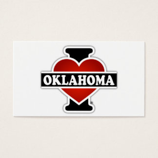 I Heart Oklahoma Business Card