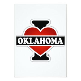 I Heart Oklahoma Card