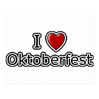 I Heart Oktoberfest Postcard