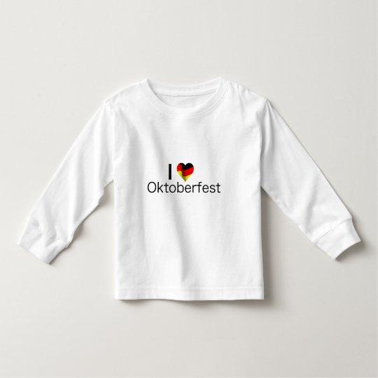 I Heart Oktoberfest Toddler T-shirt