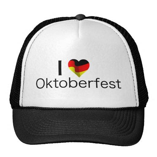 I Heart Oktoberfest Trucker Hat