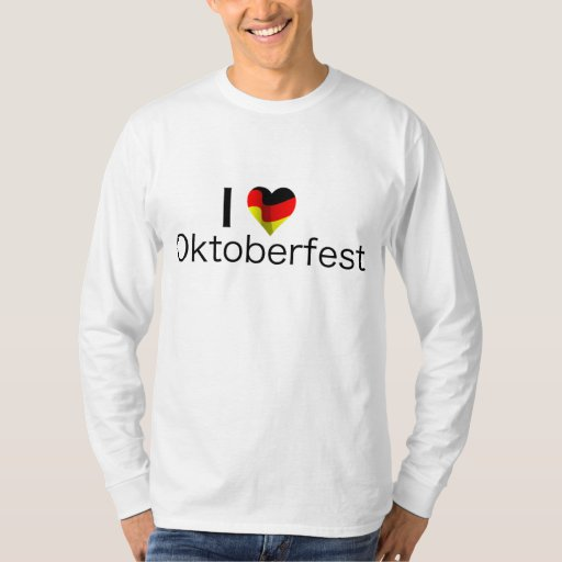 I Heart Oktoberfest Tshirt