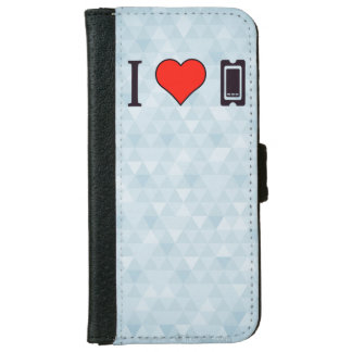 I Heart Old Tickets Wallet Phone Case For iPhone 6/6s