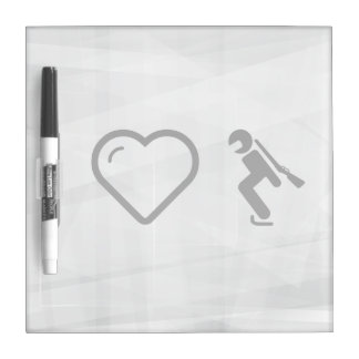 I Heart Olympic Games Dry Erase Whiteboard