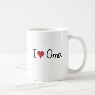 I heart Oma Coffee Mug
