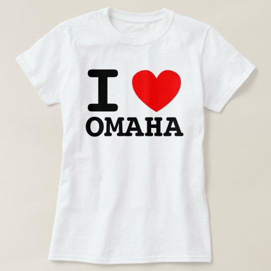 I Heart Omaha Shirt