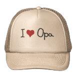 I Heart Opa Trucker Hat