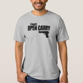 I Heart Open Carry or Do I T-Shirt