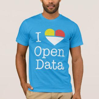 I Heart Open Data CKAN T-Shirt (Men's)