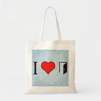 I Heart Open Doors Tote Bag