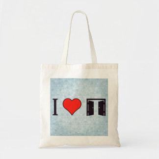 I Heart Opened Doors Tote Bag