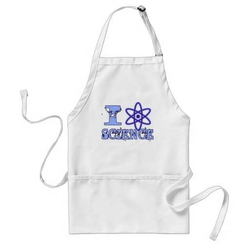 I Heart (or Atomic Symbol) Science Apron