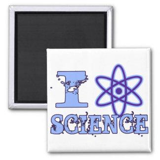 I Heart (or Atomic Symbol) Science Fridge Magnets