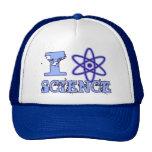 I Heart (or Atomic Symbol) Science Mesh Hats