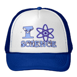 I Heart (or Atomic Symbol) Science Trucker Hat