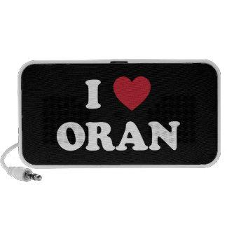I Heart Oran Algeria Portable Speaker