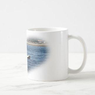 I heart Orcas Killer Whale Belly flop Coffee Mug