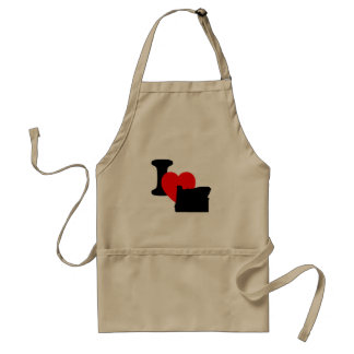 I Heart Oregon Adult Apron