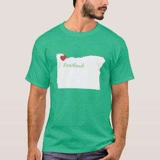 I Heart Oregon - Customizable City T-Shirt