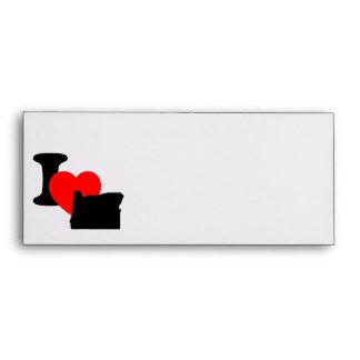 I Heart Oregon Envelope