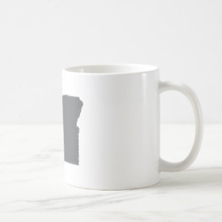 I Heart Oregon Grunge Look Outline State Love Coffee Mugs