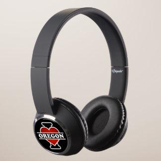 I Heart Oregon Headphones