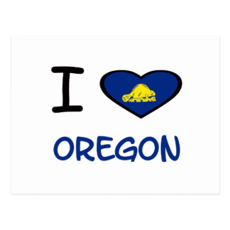 I Heart Oregon Postcard