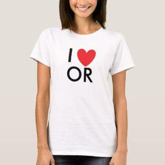 I Heart Oregon T-shirt