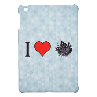 I Heart Oriental Butterflies Case For The iPad Mini