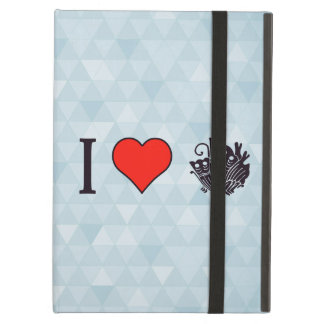 I Heart Oriental Butterflies Cover For iPad Air