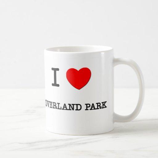 I Heart OVERLAND PARK Classic White Coffee Mug