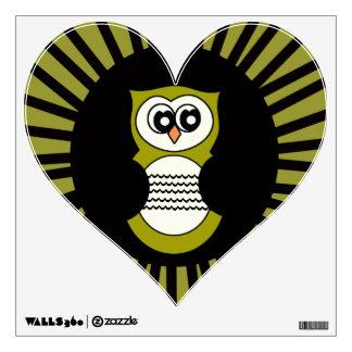 I heart Owls Wall Decal