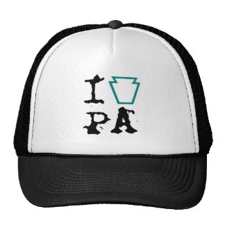i heart PA hat