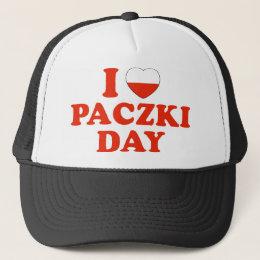I Heart Paczki Day Trucker Hat