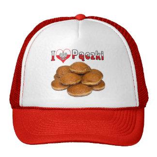 I Heart Paczki Polish Food Trucker Hat