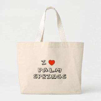 I Heart Palm Springs Jumbo Tote Bag