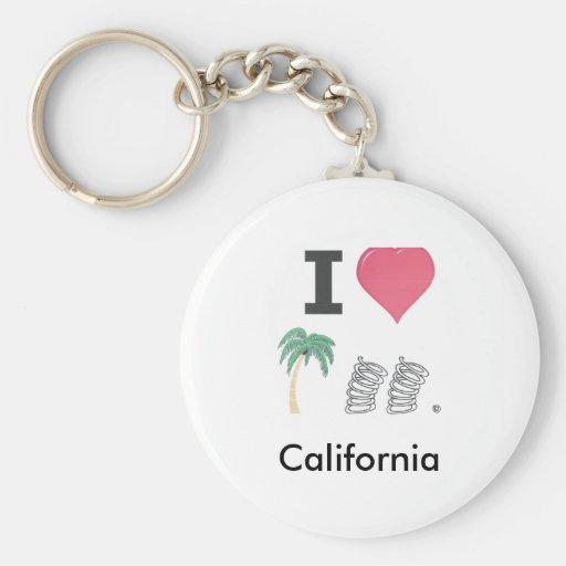 I Heart Palm Springs Key Chains