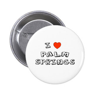 I Heart Palm Springs Pinback Button