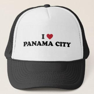 I Heart Panama City Panama Trucker Hat