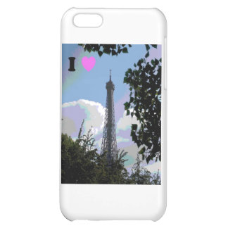 I heart Paris Cover For iPhone 5C