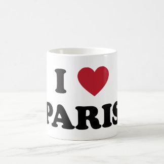 I Heart Paris France Coffee Mug