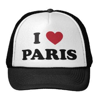 I Heart Paris France Trucker Hat