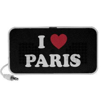 I Heart Paris France iPhone Speaker