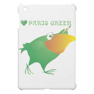 I Heart Paris Green Case For The iPad Mini