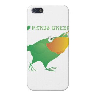 I Heart Paris Green iPhone 5 Cases